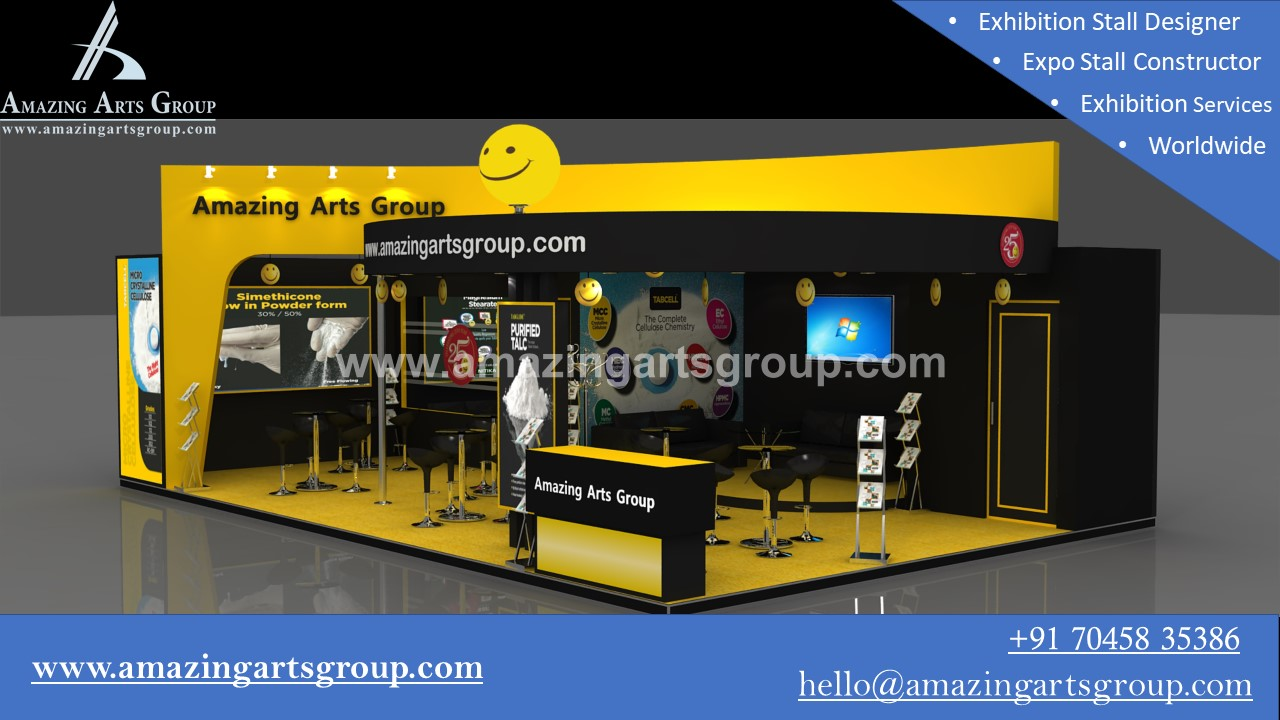 Exhibition Booth Contractor Usa : Cphi mumbai exhibition booth designer and fabricator